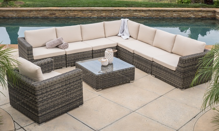9 piece sectional sofa taraval 2 piece sectional with oak