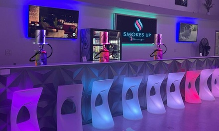 Hookah Rental with One or Unlimited Refills, or Wine or Champagne at Smokes Up Miami (Up to 25% Off)