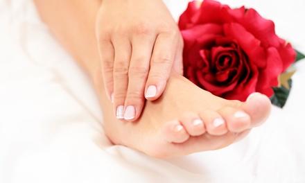1x oder 2x Kosmetische Fußpflege mit Massage bei Haarfrei Germany (bis zu 55% sparen*)
