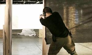 Israeli Tactical School: Tactical Shooting Course for One or Two at Israeli Tactical School (51% Off)