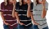 T-shirt femme motif tie and dye, coloris et taille au choix