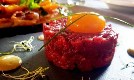 """Fino al 49% di sconto su Specialità ristorante – Degustazione Vino da """"DOC"""" Cruderia Bistrot"""