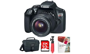 Canon EOS Rebel T6 DSLR Camera with EF-S 18-55mm IS II Lens Kit