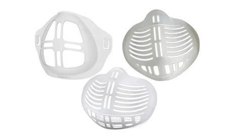 Pack de 5 soportes de respiración de silicona 3d para mascarillas