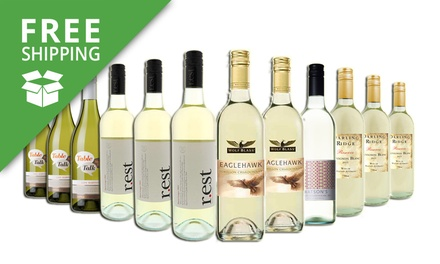 Free Shipping: $59 for a 12Bottle Pack of Australian Mixed White Wines from FiveStar Wineries Don't Pay $189
