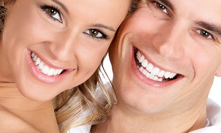 Triple LED Teeth Whitening Treatment for One $49 or Two People $89 at Vogue Skin and Laser Clinic Up to $240 Value