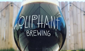 Oliphant Brewing: Craft Beer at Oliphant Brewing (Up to 38% Off). Three Options Available