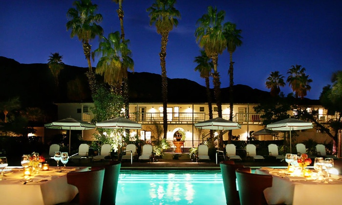 Colony Palms Hotel - Palm Springs, CA: Two-Night Stay with Spa and Dining Credits at Colony Palms Hotel in Palm Springs, CA