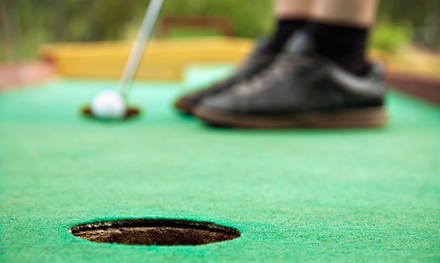 Mini-Golf for Four People or Four or Eight Large Buckets of Range Balls at Fox Meadow Golf Center (Up to 50% Off)