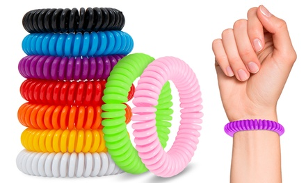 Pack de 2, 3, 4, 5 ou 10 bracelets anti moustiques