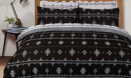 Fashion Prints Reversible Duvet Set