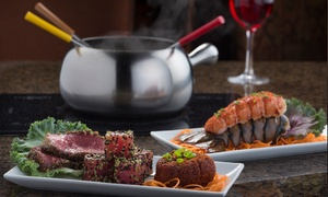 The Melting Pot : $39.95 for Two-Course Fondue Dinner for Two at The Melting Pot ($61.80 Value)