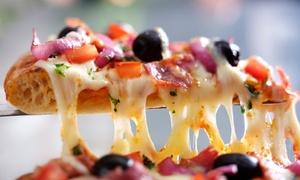 Le Bistrot de Condate: Pizza ou pâtes et dessert au choix sur la carte pour 2 personnes à 24,90 € au restaurant Le Bistrot de Condate