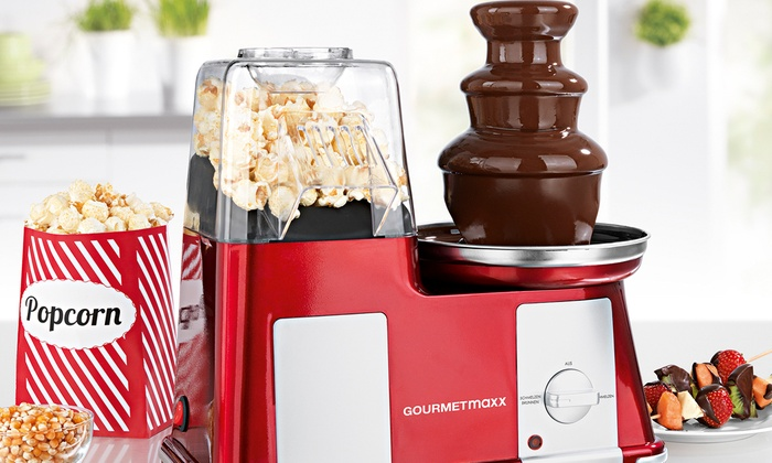 machine pop corn gourmetmaxx groupon shopping. Black Bedroom Furniture Sets. Home Design Ideas