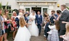Yew Lodge Hotel - Kegworth: Wedding Package for 50 Daytime Guests and 100 Evening Guests at 4* Yew Lodge Hotel (Up to 65% Off)