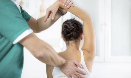 Riallineamento della colonna con massaggi