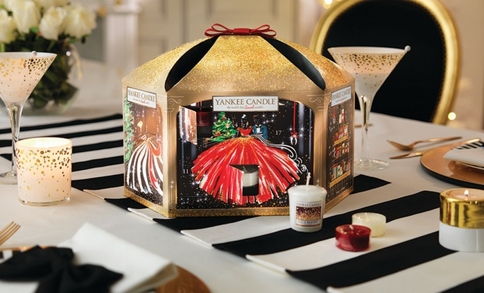 Yankee Candle Limited Edition Christmas Advent Calendar Pavilion 2016 from £29.99 With Free Delivery (25% Off)