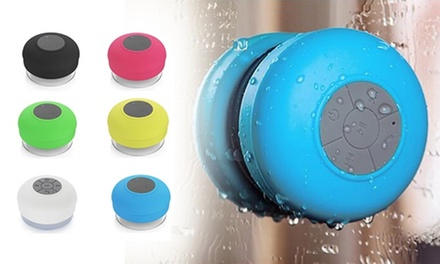 Portable Bluetooth Bathroom Speaker: One ($11.95) or Two ($19.95)