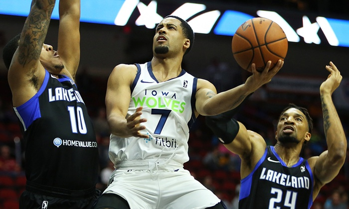 Iowa Wolves Basketball on January 2 or 5 at 7 p.m.