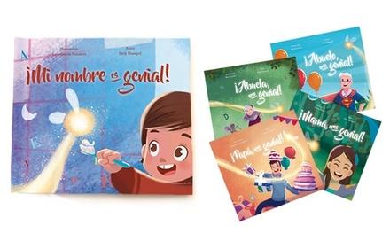 1, 2, 3 o 5 libros personalizados para niños en Story of my Name