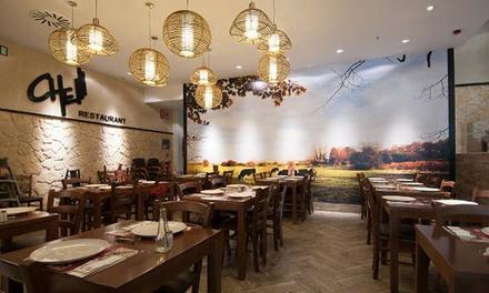 Buffet argentino servido a la mesa para comer o para cenar en Che A Coruna (hasta 33% de descuento)