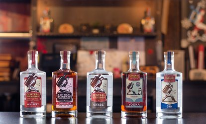 image for Tasting at Central Standard Craft Distillery(Up to 49% Off). Two Options Available.