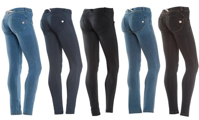 Jeans donna Freddy effetto skinny disponibili in vari colori da 59,90 € (fino a 36% di sconto)