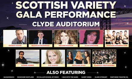 Scottish Variety Gala Performance