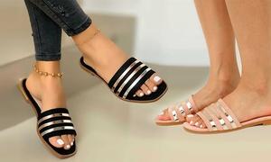 Sandales brillantes pour femme
