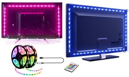 Tiras de luz LED de fondo para TV