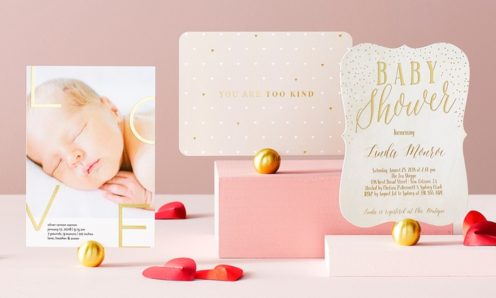 cards invites and stationery tiny prints groupon