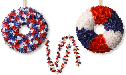 Patriotic Wreaths or Garlands