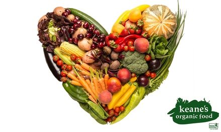 $29 for an Organic Fruit and Vegetable Box from Keane's Organic Food Up to $65 Value