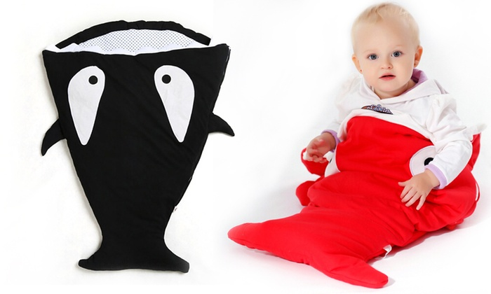 Groupon Goods: Whale- or Goldfish-Shaped Sleep Sack for Baby (Shipping Included)
