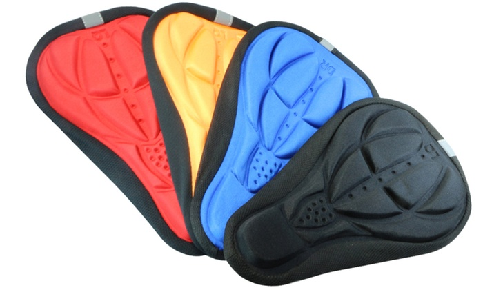 Soft Gel Cushion Pad Cycling Seat Cover