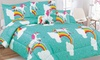 Ramesses All Season Kid's Comforter Sets With Toy