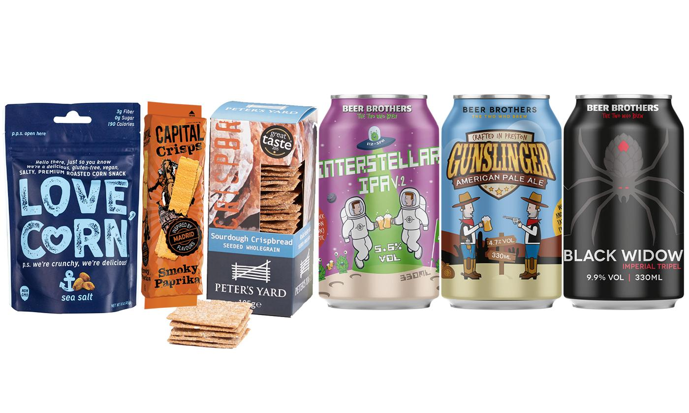 Craft Beer and Snack Hamper With Free Delivery