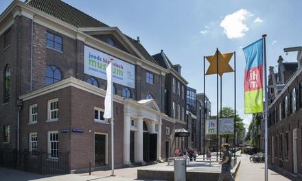 Toegang tot de 5 locaties van het Joods Cultureel Kwartier nabij het Waterlooplein in Amsterdam