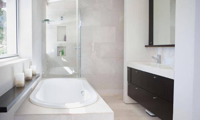 Bathroom Fixture NYC Bathtub Reglazers Refinishing Groupon - Bathtub glazers
