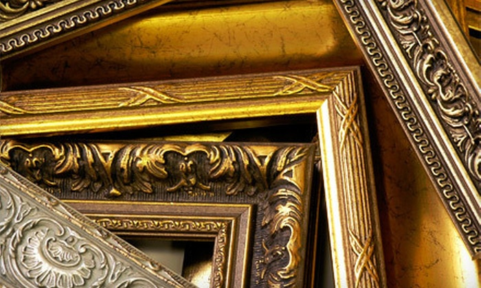 West Art Gallery  - Multiple Locations: Custom Framing at West Art Gallery (Up to 67% Off). Three Options Available.