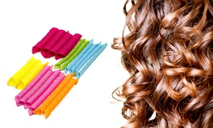 Heatless Hair Curler Set (20-Piece) at Heatless Hair Curler Set (20-Piece), plus 6.0% Cash Back from Ebates.
