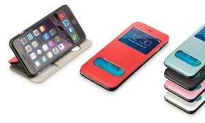 Etui en simili cuir pour iPhone
