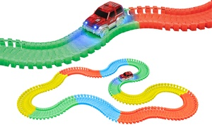 Flex-Track Race Car Track Set