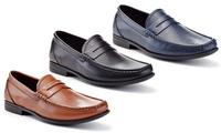 Adolfo Edoardo Men's Classic Penny Loafers