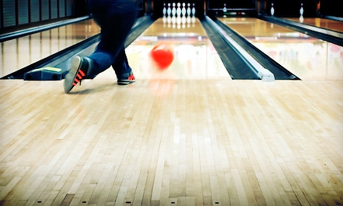 Shore Lanes Bowling Center - Neptune: Two Hours of Bowling for Up to 6 or 12 with Shoe Rentals and Beers at Shore Lanes Bowling Center (Up to 83% Off)