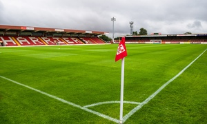 Kidderminster Harriers: Up to Three Kidderminster Harriers FC Matches, 2 - 23 September, Aggborough Stadium (Up to 50% Off)