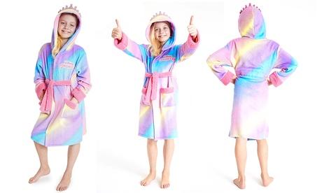disney princess girls' dressing gown