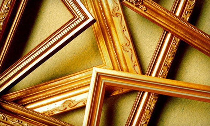 A Frame of Art - San Marcos: $100 Worth of Custom Framing and Restoration