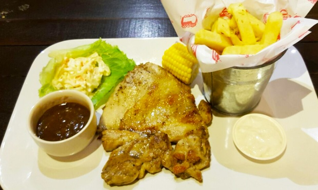 Happy valley garden kuching lamb chicken chop fish for Happy fish and chicken