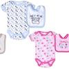 Babygear Infant Bodysuit and Bib